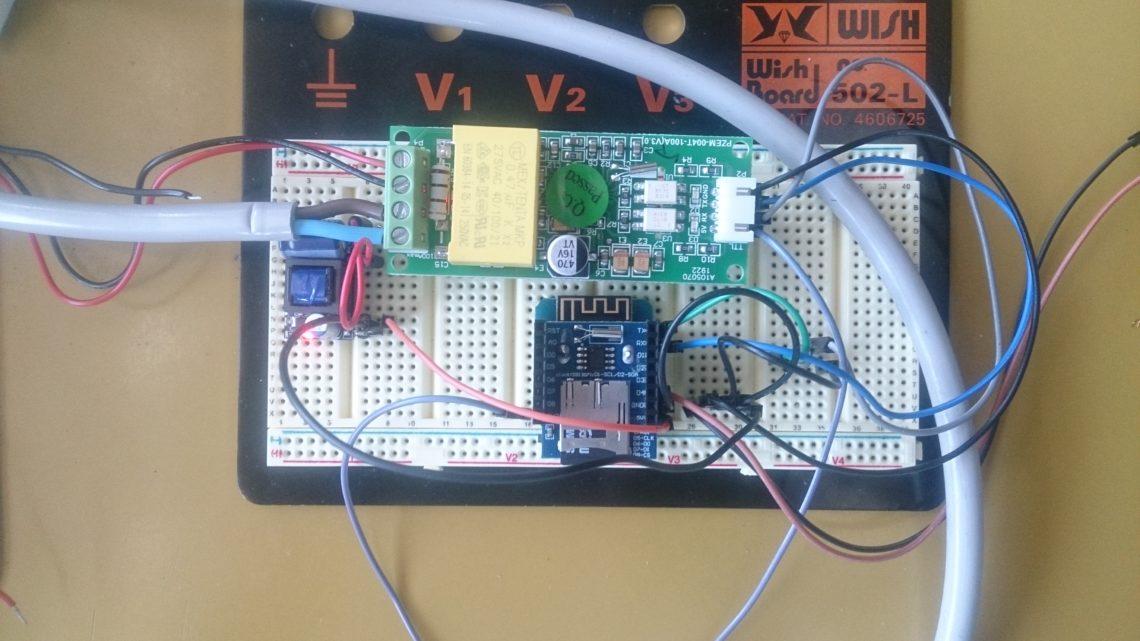 Création d'un enregistreur autonome de puissance électrique monophasé basé sur un Wemos D1 mini, d'un shield RTC/SD et d'un PZEM004T (Capteur BB1)