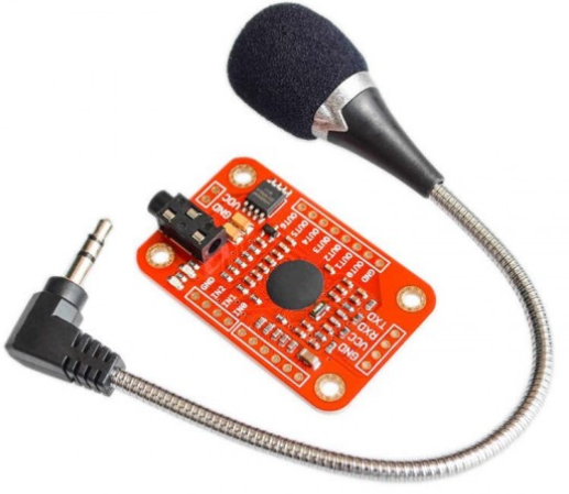 Création d'un module Assistant Vocal Portable par Wifi avec un Wemos D1 Mini et le module Voice Recognition 3